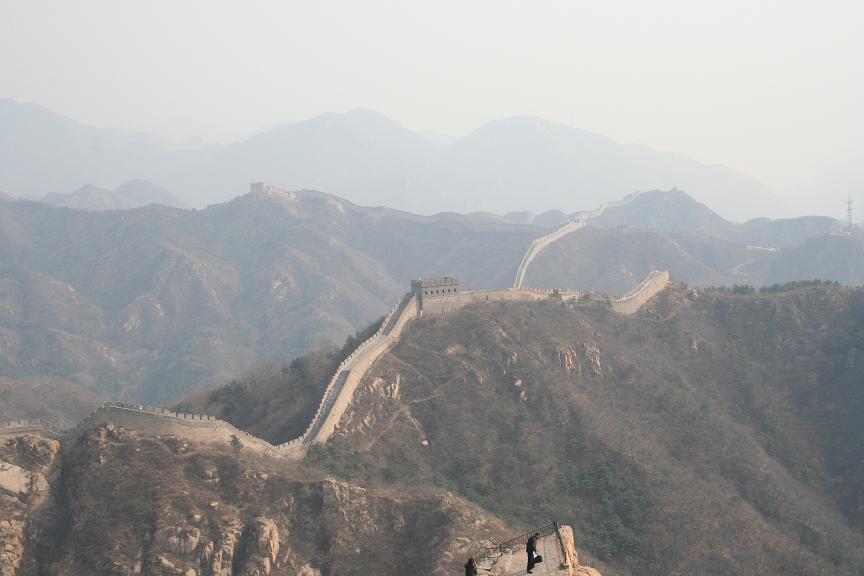 北京国際会議:万里の長城