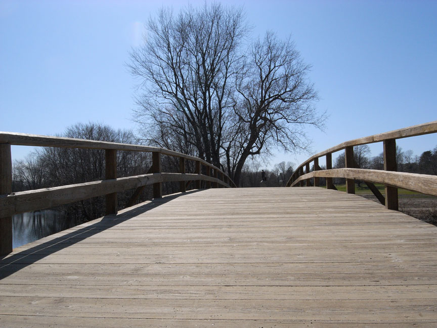 ボストン旅行:独立戦争が勃発した橋