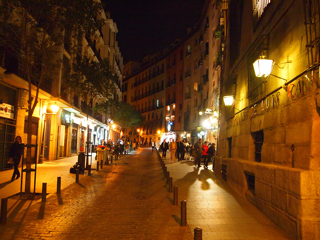 スペイン国際会議:路地
