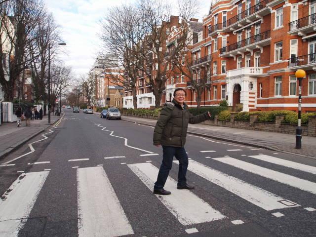 ロンドン旅行:アビーロード