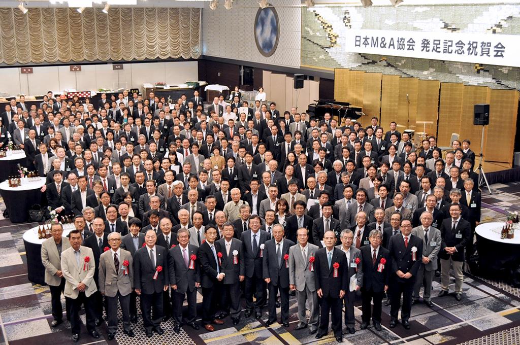 日本M&A協会 第1回理事総会:全体写真