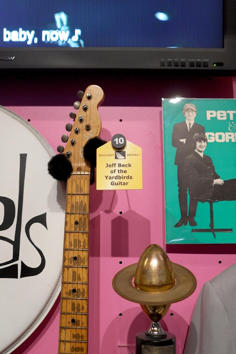 アメリカ視察:Jeff Beck Guitar