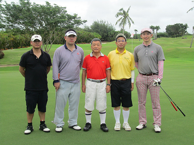社員旅行2014グアム:ゴルフ