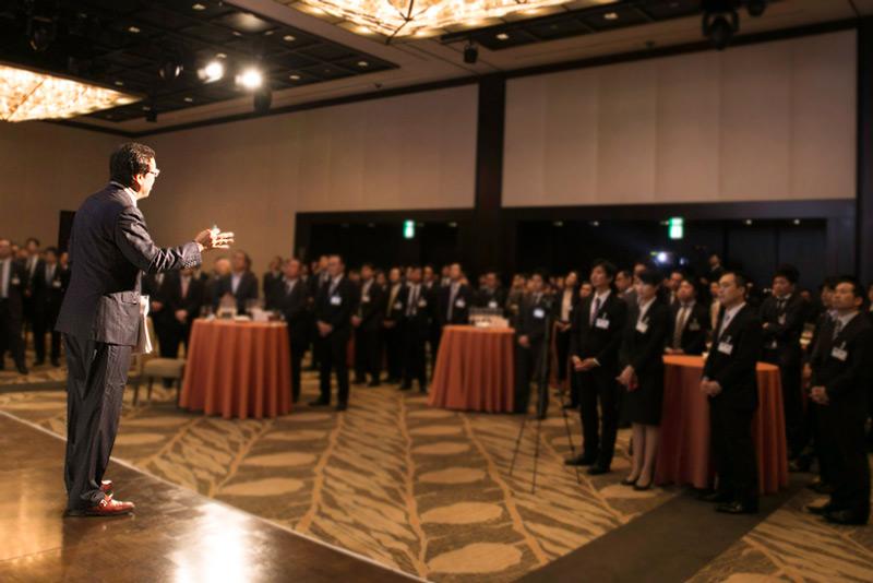 『Next Vision beyond JPX400』祝賀パーティの様子(2)
