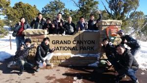 インセンティブ旅行 グランドキャニオン国立公園にて(1)